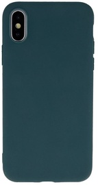 Mocco Ultra Slim Soft Matte Back Case For Apple iPhone XS Max Dark Green