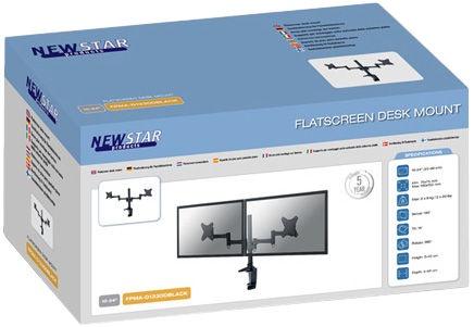 NewStar FPMA-D1330DBLACK Desk Mount 10-24''