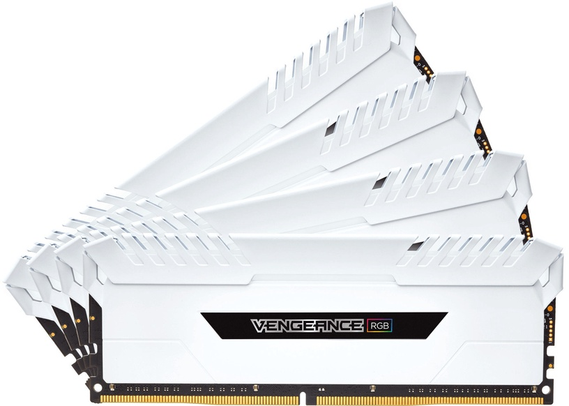 Corsair Vengeance RGB LED White Series 32GB 3200MHz CL16 DDR4 KIT OF 4 CMR32GX4M4C3200C16W