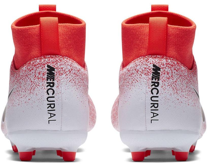 Nike Mercurial Superfly 6 Academy MG JR AH7337 801 White/Orange 34