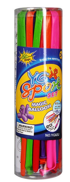 Verners Magician Balloons 20pcs with Pump