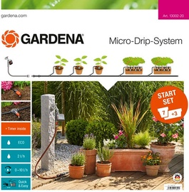 Gardena Micro-Drip-System Starter Set Plant Pots M Automatic