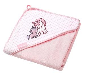 BabyOno Hooded Towel 100x100cm Pink