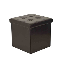 SN Pouf With Storage XYF2108B Brown