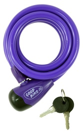Good Bike Cable Lock 12x1000mm Purple
