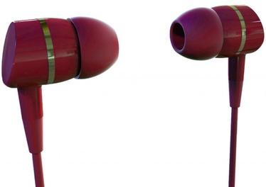 Vivanco Solidsound Stereo Earphones Red