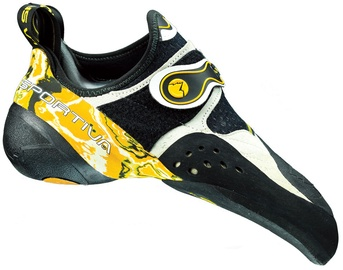 La Sportiva Solution White Yellow 40