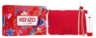 Женский парфюмерный набор Kenzo Flower By Kenzo 3pcs Set 125 ml EDP