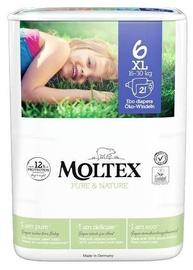Mähkmed Moltex Pure & Nature, 6, 21 tk