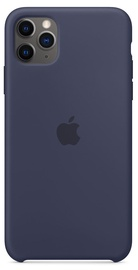 Apple Silicone Back Case For Apple iPhone 11 Pro Max Midnight Blue
