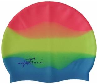 Crowell Rainbow MC602 Light Blue Lime Green Red