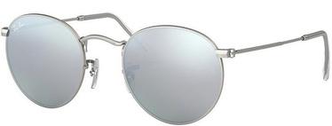 Ray-Ban Round Fleck Flash Lenses 019/30 50mm Silver Flash