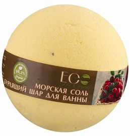 ECO Laboratorie Sea Salt Bath Bomb 220g Black Currant & Cranberries