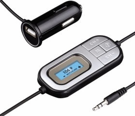 Hama 136650H FM Transmitter for Smartphones Black