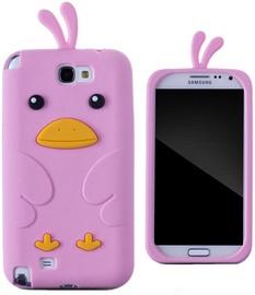Zooky Soft 3D Case Samsung N7100 Galaxy Note 2 Chicken Pink
