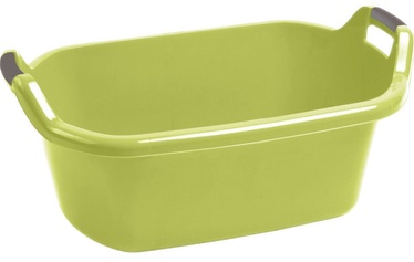 Curver Oval Bowl With Handles 55L Green