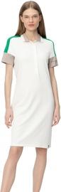 Audimas Womens Soft Surface Modal Polo Dress White M