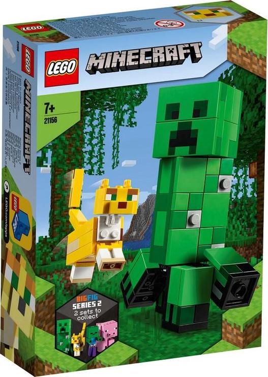 Konstruktor Lego Minecraft BigFig Creeper And Ocelot 21156