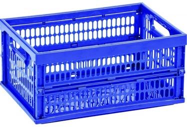 Curver Mini Foldable Plastic Box Blue