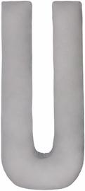Mamandu U Shaped Pillow Grey 165x80x20cm