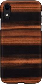 Man&Wood Ebony Back Case For Apple iPhone XR Black