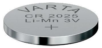 Varta Proffesional Electronics Lithium Tablet Battery CR2025