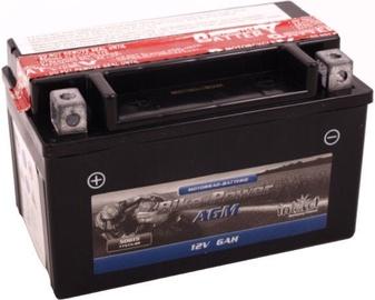 Аккумулятор IntAct AGM YTX7A-BS, 12 В, 6 Ач
