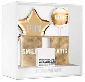 Zadig & Voltaire This Is Her! 50ml EDP + Shiny Cosmetic Bag