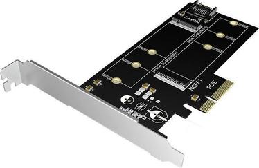 ICY Box IB-PCI209 2x M.2 SSD to SATA III and PCIe 3.0 x4 Host