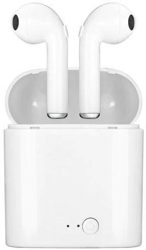 Kõrvaklapid Blackmoon i7S TWS White, juhtmevabad