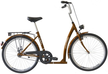 "Jalgratas Kenzel SITnGO Ceremony, pruun, 16"", 26"""