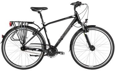 "Jalgratas Kross Trans Sander XL 28"" Black White Glossy 17"
