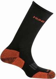 Mund Socks Cross Country Skiing Black/Orange 46-49