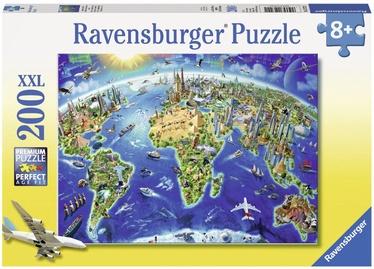 Ravensburger XXL Puzzle World Landmarks 200pcs 12722