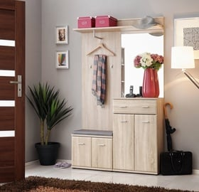 ASM Armario II w/ Pillow Hallway Wall Unit Set Sonoma Oak