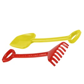SN Toy Spade And Rake Yellow/Red D01