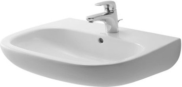 Duravit D-Code 600x460mm Washbasin White