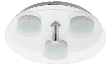 Eglo Abiola LED Ceiling Lamp 3x5.4W 3000K 1290lm Chrome
