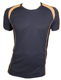 Bars Mens Football Shirt Blue 189 XS