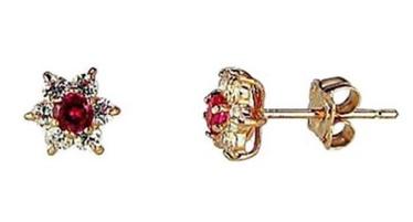 Diamond Sky Gold Earrings Andromeda I