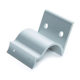 SN Handrails Holder Horiz 48mm Silver