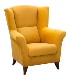 Tugitool Idzczak Meble Kent Yellow, 94x75x105 cm