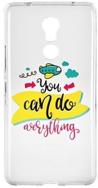 Blun Art Back Case For Apple iPhone 7 You Can Do Everything