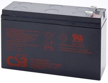 CSB Battery HR 1224W 12V 24W