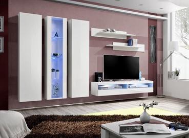 ASM Fly P14 Living Room Wall Unit Set White
