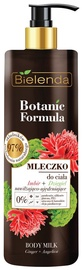Молочко для тела Bielenda Botanic Formula Ginger + Angelica, 400 мл