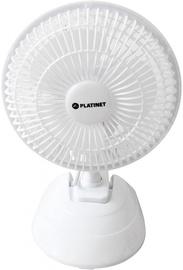 """Platinet Fan 6"""" White"""