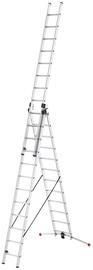 Alumiiniumist redel ProfiLOT 9312-507, 3x12 astet