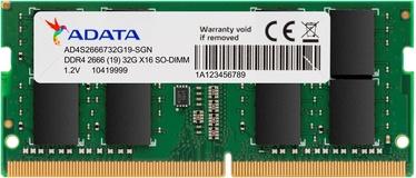 Operatiivmälu (RAM) ADATA Premier AD4S2666732G19-SGN DDR4 (SO-DIMM) 32 GB