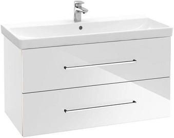 Шкаф для ванной Villeroy & Boch Avento 760 x 447 mm Crystal White